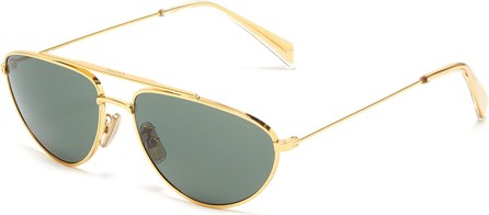 Celine Metal narrow aviator sunglasses