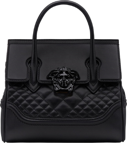 Versace Tribute Palazzo Empire Medium Leather Satchel