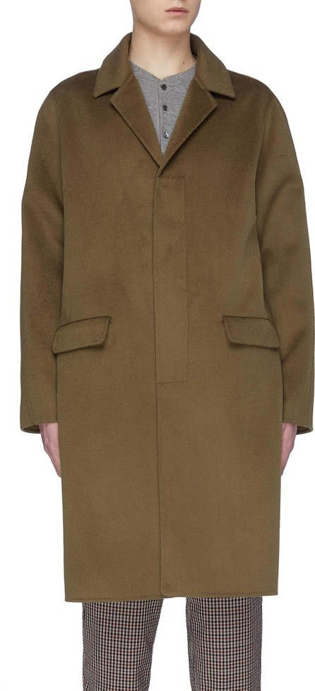 Nanushka Silk wool blend coat