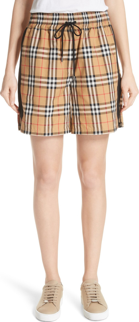 Burberry London England Dovemoore Cotton Shorts