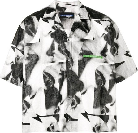 DSQUARED2 Abstract boxy shirt
