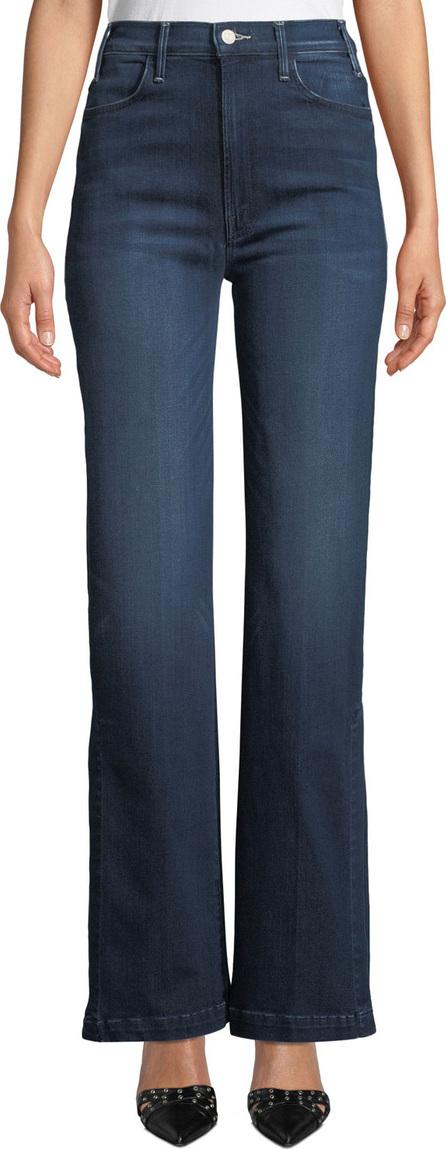 MOTHER The Hustler Sidewinder Wide-Leg Jeans