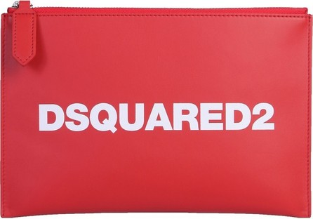 DSQUARED2 Signature Zip Pouch