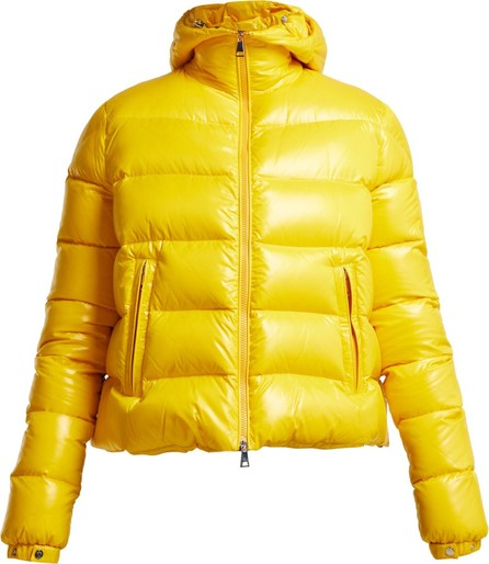 1 Moncler Pierpaolo Piccioli Ginevra hooded quilted-down ski jacket