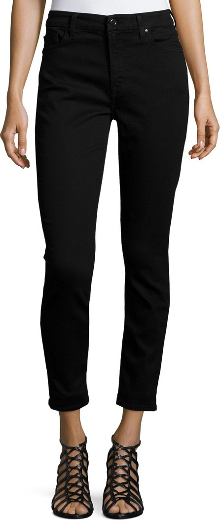 Jen7 Mid-Rise Skinny Ankle Jeans
