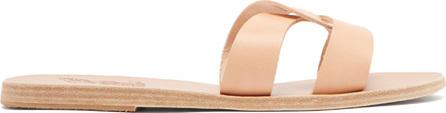 Ancient Greek Sandals Desmos vachetta leather slides