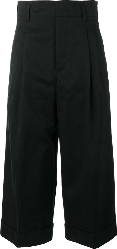 Golden Goose Deluxe Brand cropped wide leg trousers