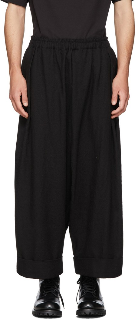Toogood Black 'The Baker' Trousers