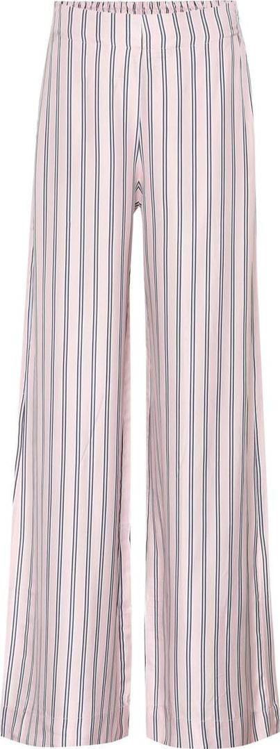 Zimmermann Radiate striped silk-blend trousers