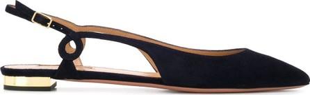 Aquazzura Serpentine cut-out ballerina shoes
