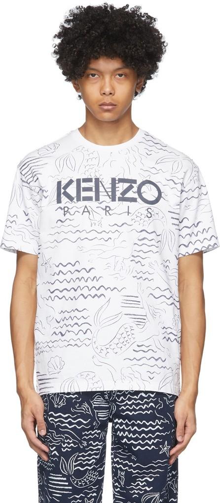KENZO White Mermaids T-Shirt