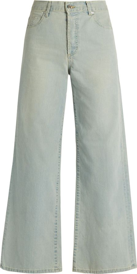 EVE DENIM Charlotte high-rise wide-leg jeans