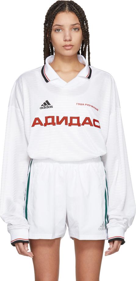 Gosha Rubchinskiy White adidas Originals Edition Polo