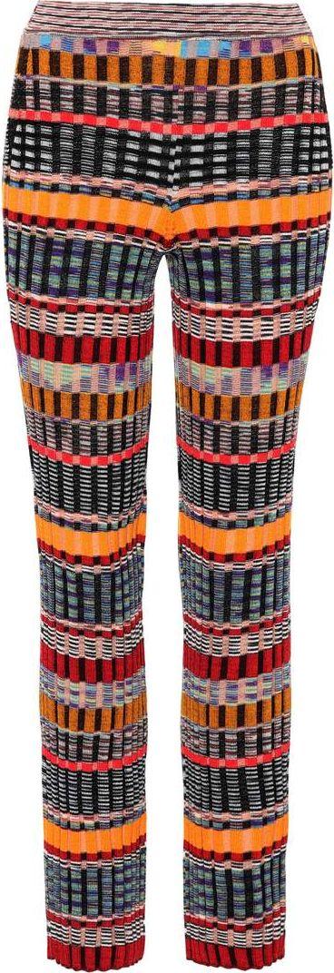Missoni - Striped wool trousers