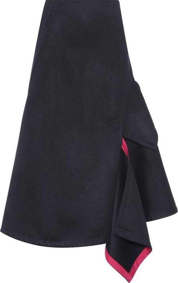Victoria Beckham - Wool midi skirt