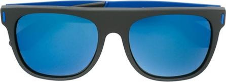 RetroSuperFuture large 'Flat Top Squadra' sunglasses
