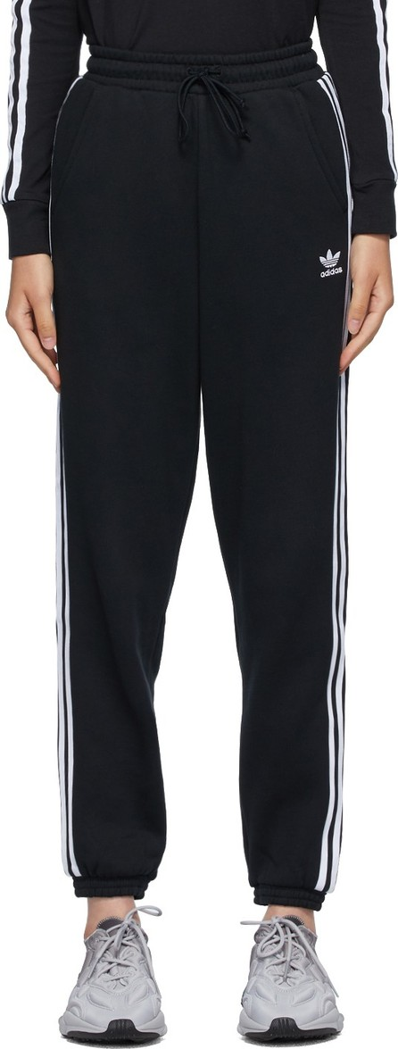 Adidas Originals Black Regular Jogger Lounge Pants