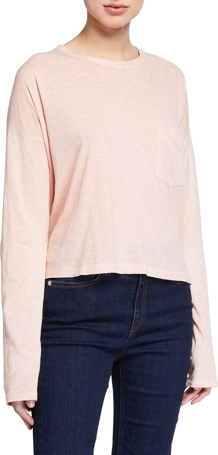 Rag & Bone The Cropped Long-Sleeve Tee