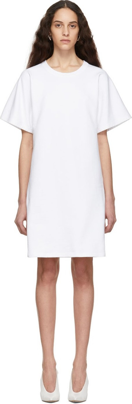 A_Plan_Application White T-Shirt Dress