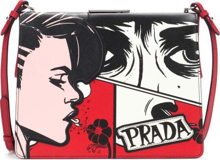 Prada Light Frame leather shoulder bag