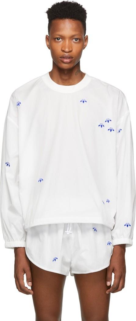 Adidas Originals by Alexander Wang White AW Crew Sweatshirt