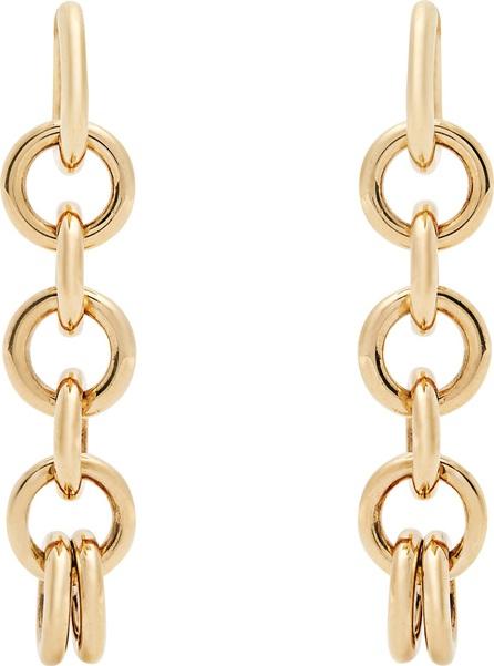 Spinelli Kilcollin Columba yellow-gold earrings
