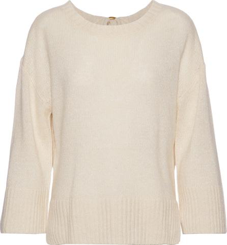 Derek Lam 10 Crosby Tie-back linen and cashmere-blend sweater