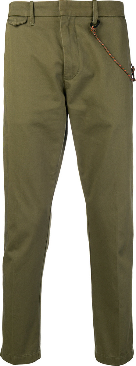 Closed Rope trim trousers
