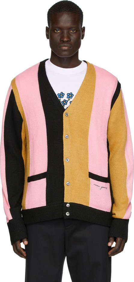 Noon Goons Black & Pink Striped 'The Droogs' Cardigan