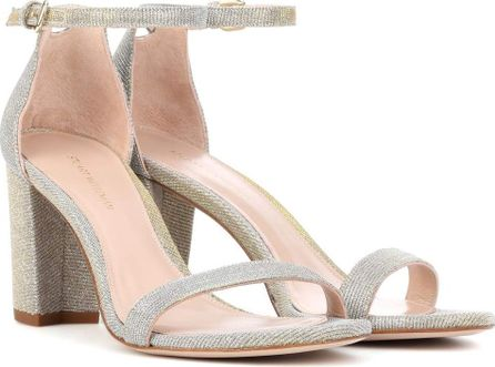 Stuart Weitzman Nearlynude metallic sandals