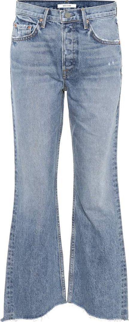 Grlfrnd Dahl high-waisted flared jeans