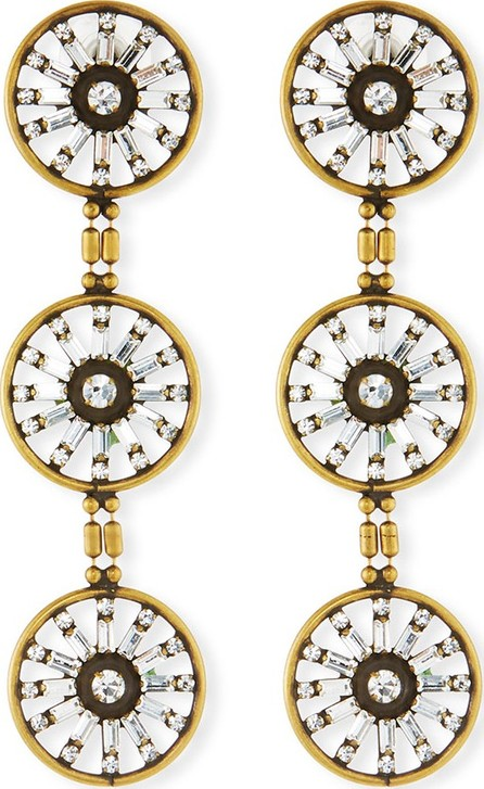 Auden Orlando Triple Drop Earrings