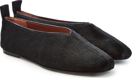 Joseph Calf Hair Loafers