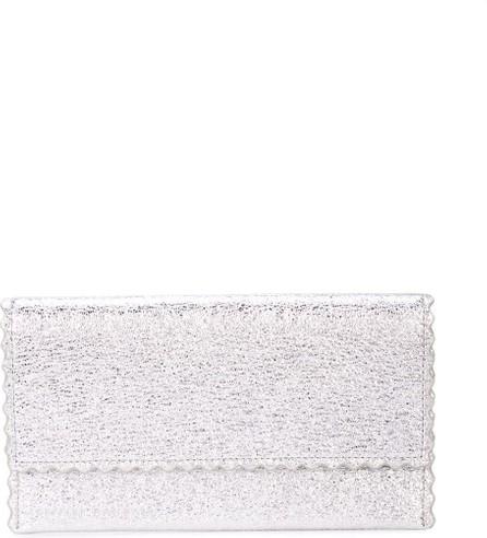 Loeffler Randall Everything scalloped edge wallet