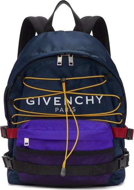Givenchy Blue & Black Hiking Backpack