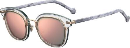 4d4e1a2a01d69 Dior Diorlia mirrored square-frame sunglasses - Mkt