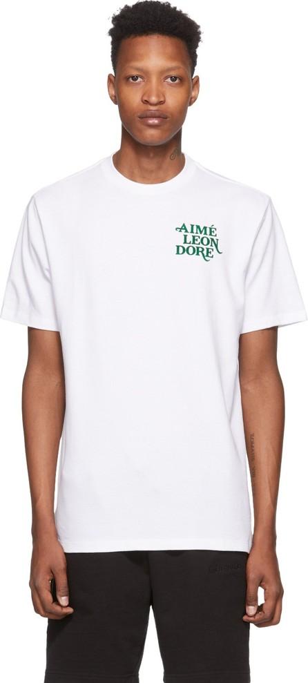Aimé Leon Dore White 70s Graphic T-Shirt