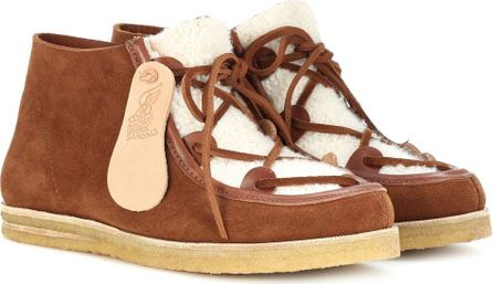 Ancient Greek Sandals Hera suede ankle boots