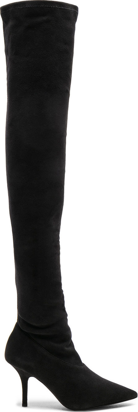 Yeezy Season 5 Suede Thigh High Boots