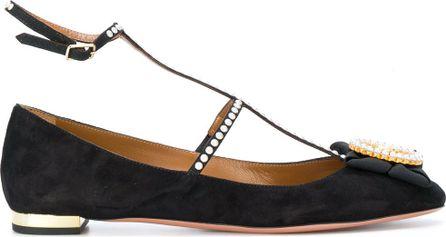 Aquazzura embellished Cameo ballerina shoes