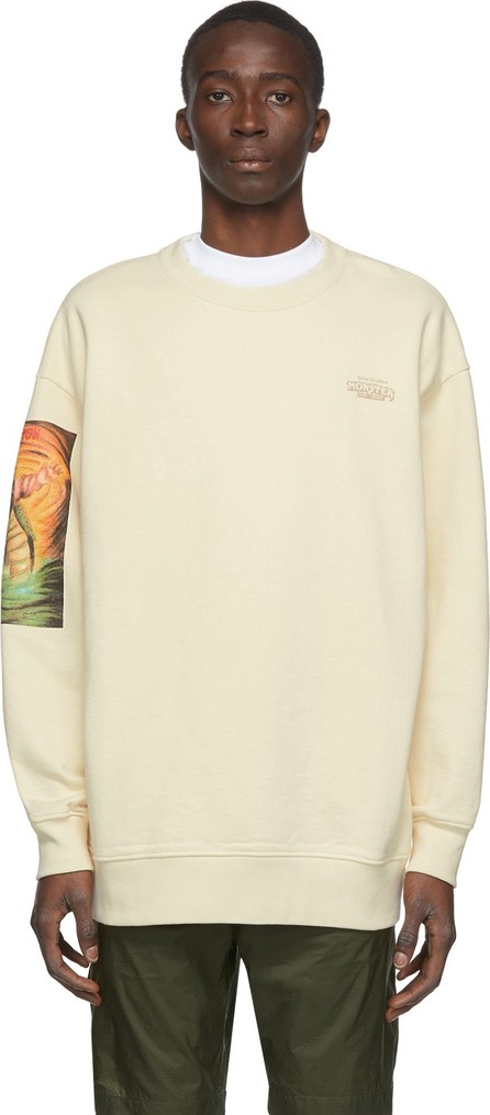 Acne Studios Beige Monster in My Pocket Edition 'Tritan' Sweatshirt