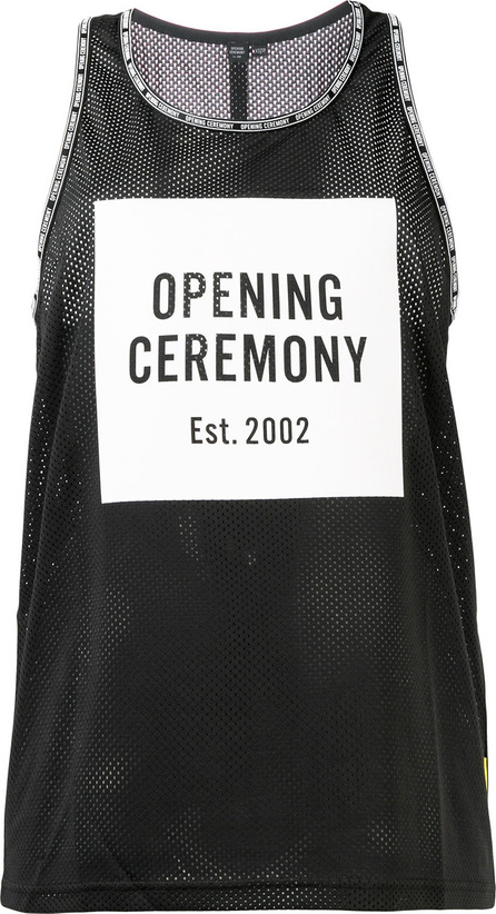 Opening Ceremony Logo perforated racerback top