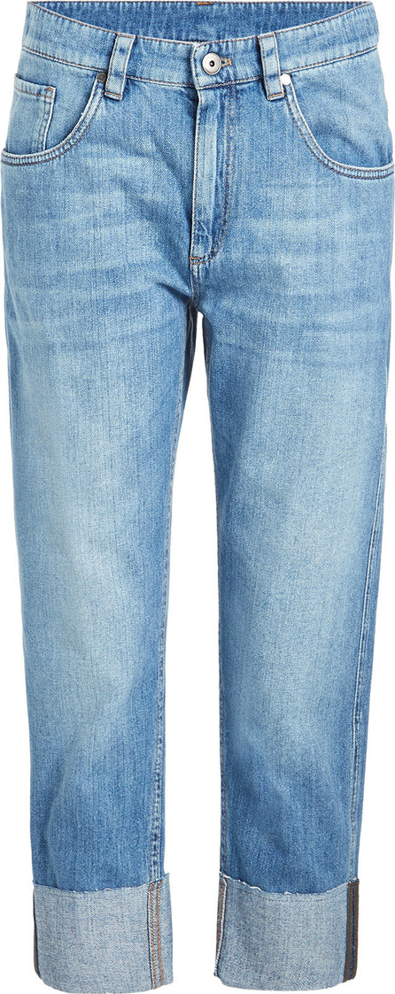 Brunello Cucinelli Cropped Jeans