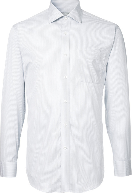Gieves & Hawkes Striped slim-fit shirt