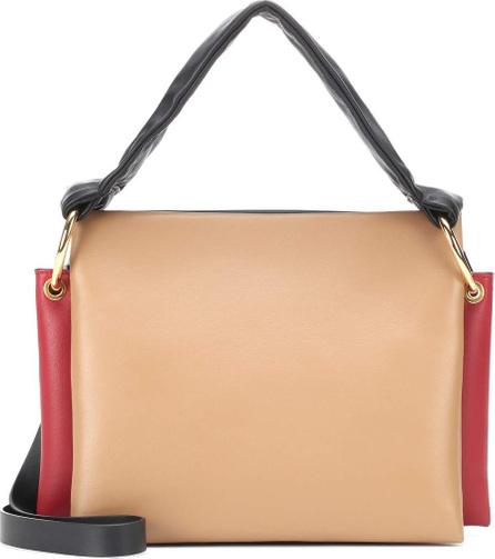 Marni Beat leather shoulder bag