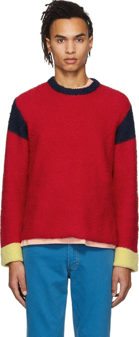 Eckhaus Latta Red & Navy Kermit Sweater