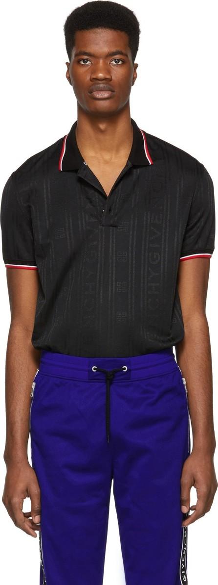 Givenchy Black 4G Polo Shirt