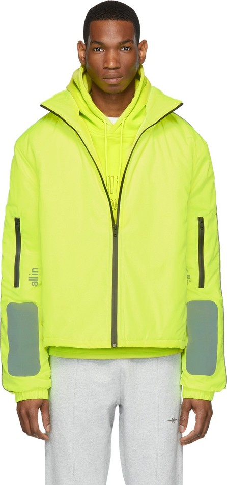 all in SSENSE Exclusive Yellow Astro Winter Jacket