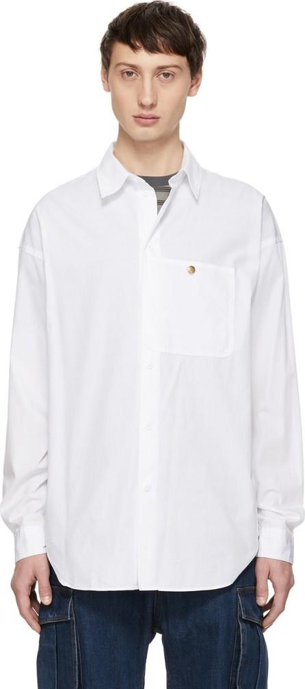 Acne Studios White Blå Konst Glanni Shirt