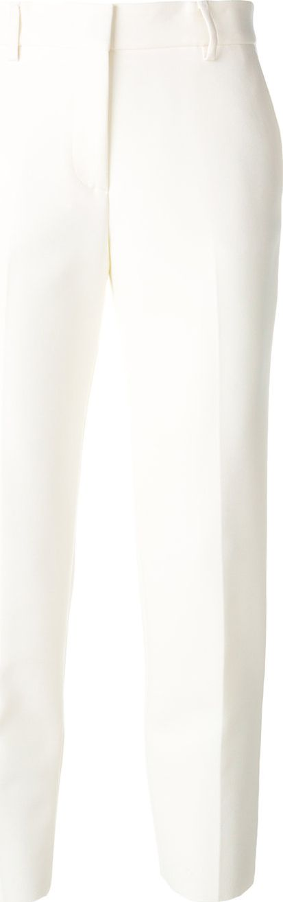 MSGM - cropped straight leg trousers